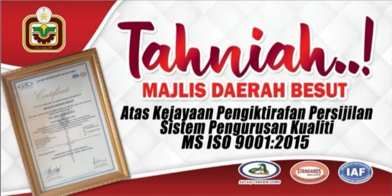 Portal Rasmi Majlis Daerah Besut Mdb
